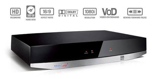 tata sky dth connection price
